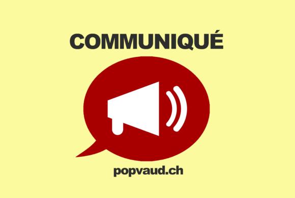 Communiqué de presse du POP : deuxième tour du Conseil des Etats