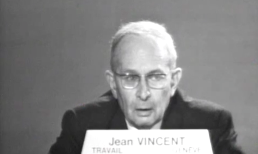 Oui à la grève par Jean Vincent (1967) – Histoire POP