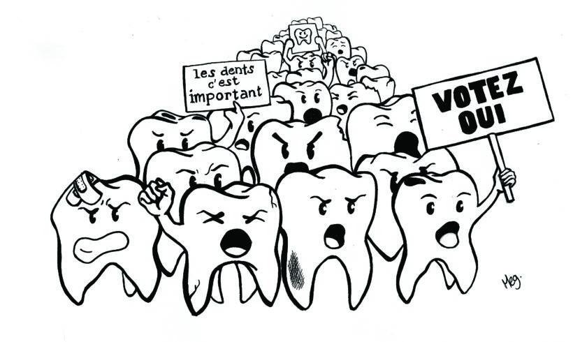 Initiative soins dentaires :  merci à tous!