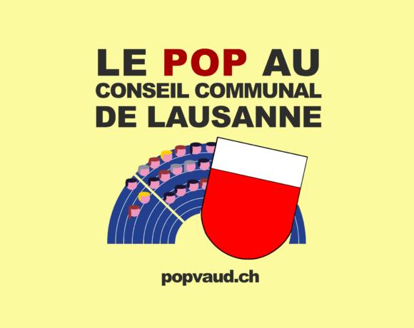 Conseil communal Lausanne : compte rendu de la séance du 26.06.18