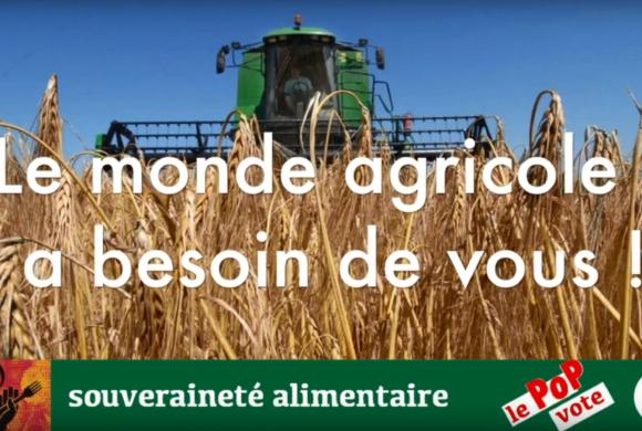 Vidéo sur la souveraineté alimentaire