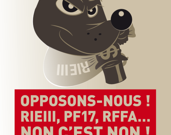 RIE3, RFFA, NON C'EST NON !