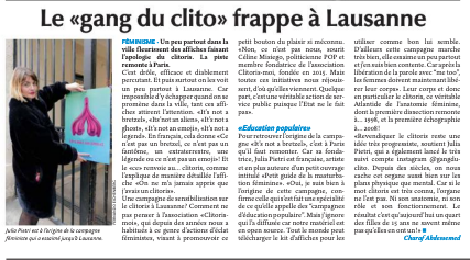 Le «Gang du clito» frappe à Lausanne