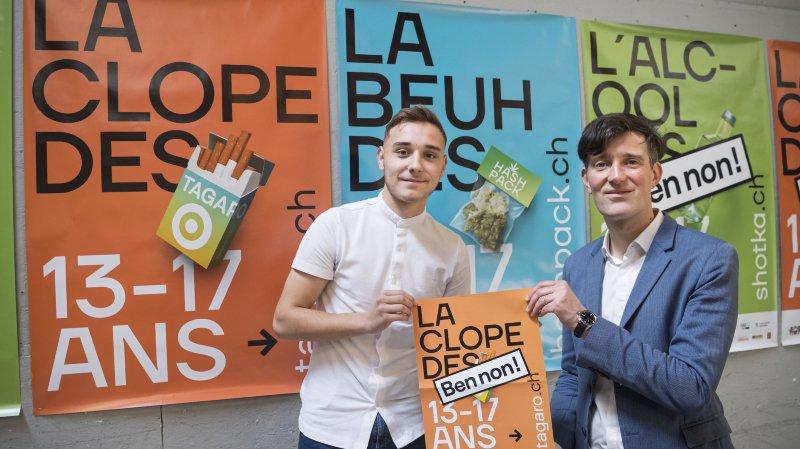 Alcool, tabac et beuh: Lausanne s'attaque à trois addictions des ados