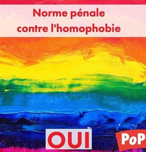 Pour en finir avec l'impunité des insultes homophobes
