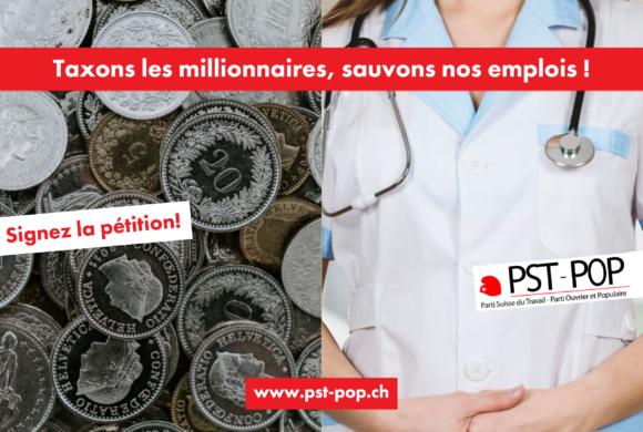 Taxons les millionnaires, sauvons nos emplois! – Michel Fleury