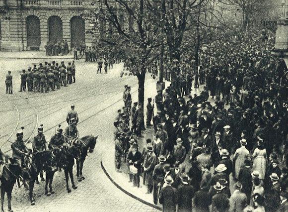 VIDEO / Grève générale de 1918 – Revue de presse POP